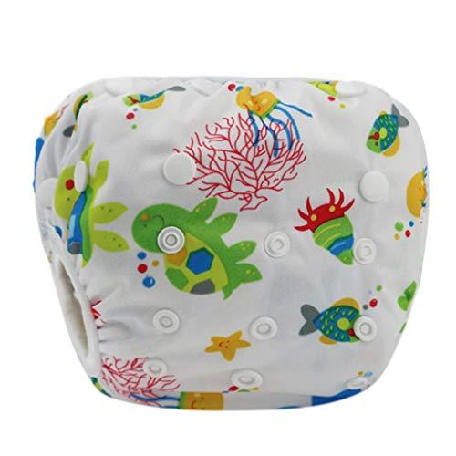 Covermason Baby Wiederverwendbare Windeln Schwimmen Pantoffeln wasserdichte Schwimmunterricht (A)
