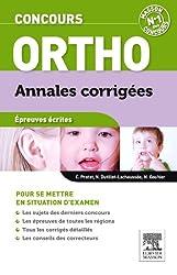 Concours orthophoniste - Annales corrigées