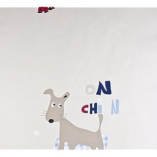 Dutch Wallcoverings 1217-5 Wallpaper Dogs, Beige