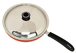 Anjali 240Mm Induction Fry Pan With Lid