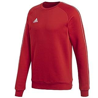 adidas Herren Core 18 Sweat Trainingstop, Power Red/White, M