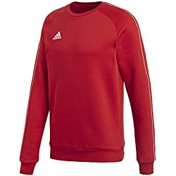 Adidas CORE18 SW Top Sudadera, Hombre, (Rojo/Blanco), XL