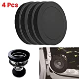 Dogggy 4x 6.5 Car Universal Speaker Soundproof Cotton Insulation Bass Ring Foam Pad Sound Wave Accessories