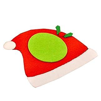 veklblan Estera De La Taza No Tejida De Doble Aislamiento De Calor De Las Capas De La Copa De Navidad Mat Vajilla Mantel Decoración De La Tabla De Red Hat