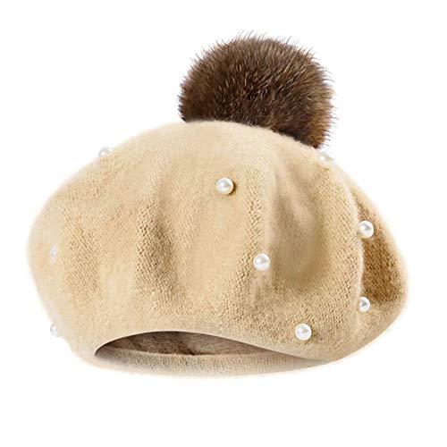 Mitlfuny Niños Niñas Sombreros Punto Gruesa Bebé