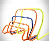 POWERSHOT® Hürden Trainingshürden - 5er Set Koordinationshürden - 15, 23, 30 oder 45cm Fußball