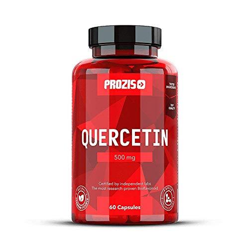 Prozis Quercetin 500 mg 60 caps - Bioflavonoide, zur Unterstützung des allgemeinen Gesundheitszustandes