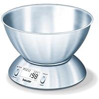 Beurer KS 54 Bilancia da Cucina in Inox (Piccoli elettrodomestici da cucina)