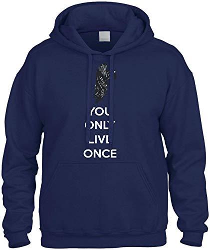 Yolo You Only Live Once Sweatshirt Hoodie Hoody