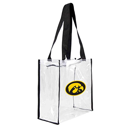 ncaa-iowa-hawkeyes-square-stadium-tote-115-x-55-x-115-inch-clear-by-littlearth