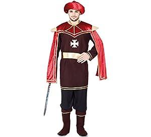 Fyasa 705917-T04 Courtier - Disfraz de Vestido para 12 años de Edad,, Grande