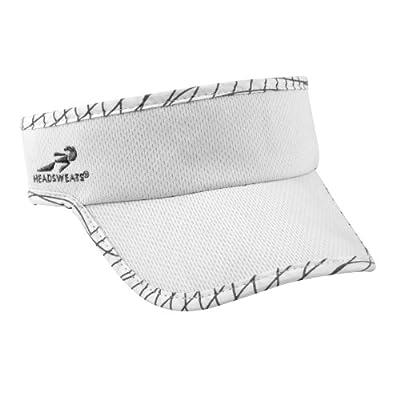 Headsweats Sport-Sonnenschild Ultra Reflective Visor, White, One size, 0812068002694