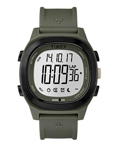 Timex Orologio Digitale Quarzo Uomo con Cinturino in Plastica TW5M19400