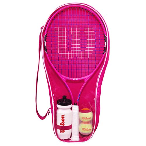 WILSON Burn 25 Jnr Tennis Schläger Set (Farboptionen) (Rosa)