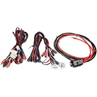 2400 Watt // 250A // 50mm/² // 1//0 AWG Stinger Select SS2400XS Einbau Kabel-Set f/ür Car-HiFi Auto Verst/ärker//Endstufe