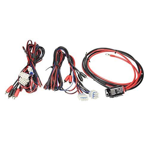Metra MPS-AK84 Powersports Verstärker Kabel Set 4-Kanal 8GA (10mm²) für Motorräder und andere Motorsportfahrzeuge Metra Subwoofer