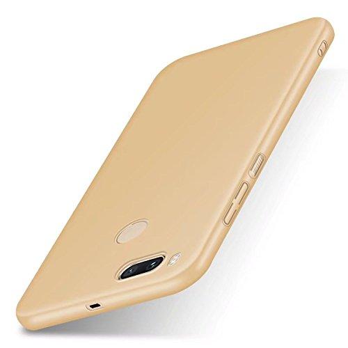 """XMT Xiaomi Mi 5X,Xiaomi Mi A1 5.5"""" Funda,Calidad Premium Cubierta Delgado Caso de PC Hard Gel Funda Protective Case Cover para Xiaomi Mi 5X,Xiaomi Mi A1 Smartphone (Oro)"""