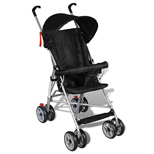 Contemporary Jet Stroller Baby Toddler Travel Baby Buggy Infant Home Cycling Black