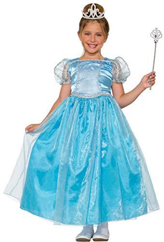 (Large, Blue) - Forum Novelties Girls Lady Blue Princess Costume, Blue, Large (Forum Womens Kostüm)