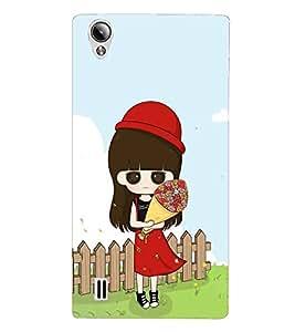 Fuson Designer Back Case Cover for Vivo Y15S :: Vivo Y15 (Princess design :: Crazy girl design :: Chubby girl design :: Lovely girl design :: Sweet girl design)