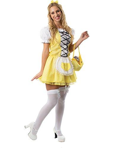 Meine Damen Goldilocks Geschichte Märchenbuch Woche Verkleidung Kostüm Small
