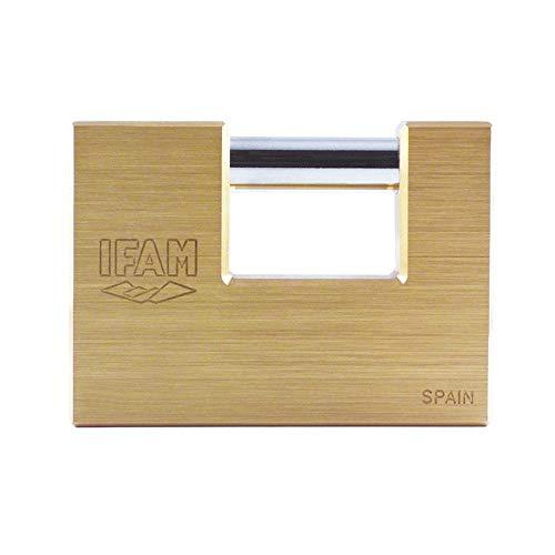 IFAM - Candado latón extruido modelo U90 KN arco