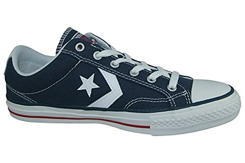 Star Player Navy Navy 7 (High Converse Heels Leder)