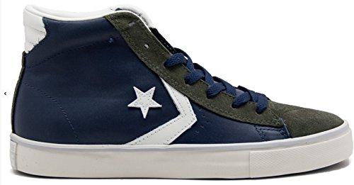 Converse - Converse All Star Herrenschuhe Weiss Pro Leather Mid WHITE/MET.PLASTI