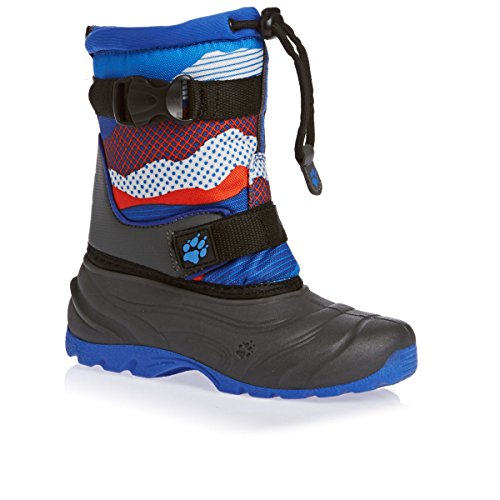 Jack Wolfskin SNOW ROCKER 4001142 Jungen Schneestiefel classic blue all over