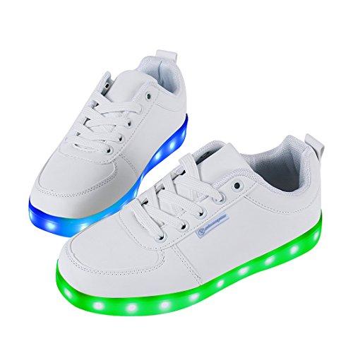 4afeb891a0 Angin-Tech LED Schuhe 7 Farbe USB Aufladen LED Leuchtend Sport Schuhe  Sportschuhe LED Sneaker