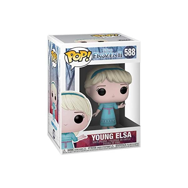 Funko Pop Elsa Jóven (Frozen 2 588) Funko Pop Frozen