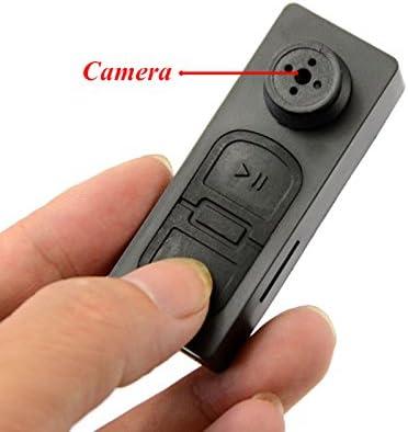 Mengshen 8GB HD Mini DV Botón estilo espía ocultos cámara de vídeo grabador de audio de seguridad DVR Digital Camcorder MS-S918