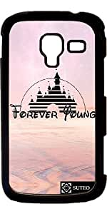 Coque Samsung Galaxy Ace 2 – Forever Young – Disney - ref 1238