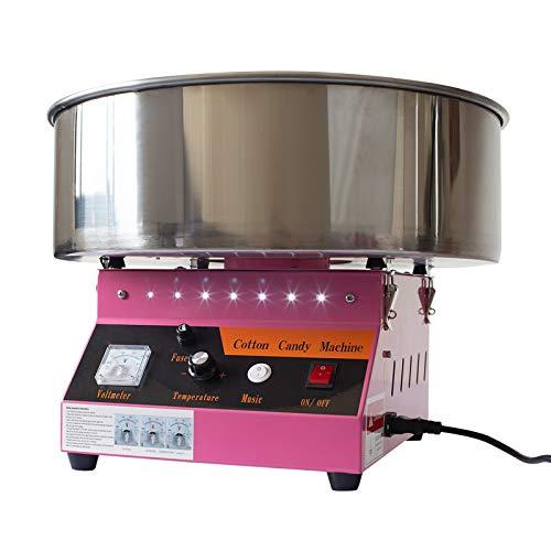 Dawoo 220V /1080w industria di dolciumi elettrici commerciali di cotone/zucchero filato