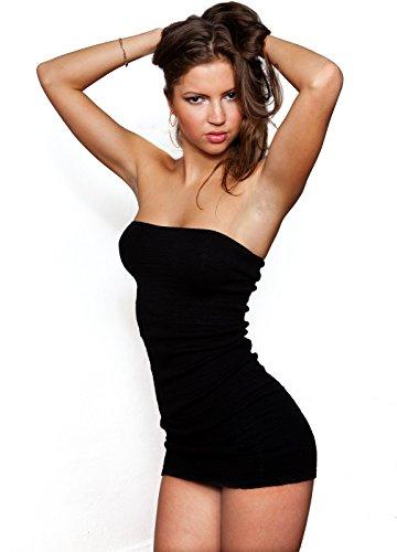 Intimate-Mini robe Sexy Tube de KD dance New York Cosy Unique & tendance de haute qualité Made In USA Blanc