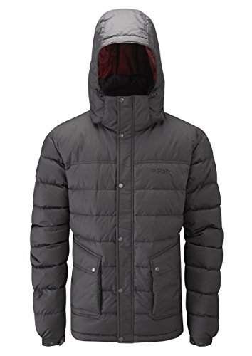 Rab Men's Sanctuary Jacket - Anthracite, Small for sale  Delivered anywhere in UK