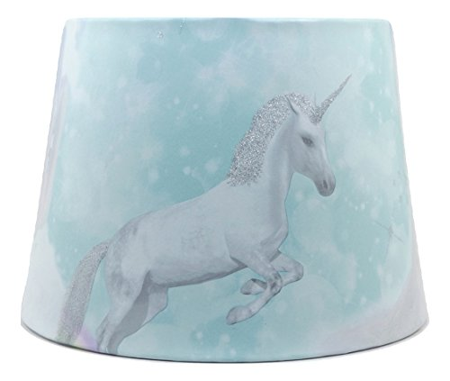 best loved 3c184 ae0bc Unicorn Lampshade or Ceiling Light Shade Quotes Teal Glitter Horses Pony  Girls Themed Bedroom Room Nursery Decor 9.5