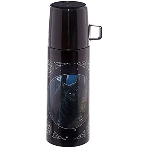 Thermos 350 ml Gatto con scopa da strega