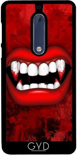 tArtists Hülle für Nokia 5 - Vampir by BluedarkArt ()