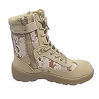 FLYTON Desert Sand Army Boot For Men