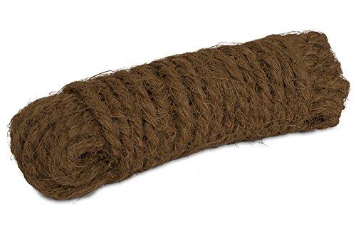 Windhager Kokosgarn Baumanbinder Kokosseil Kokos-Tau Baum-Kordel, Garn aus 100% Kokosfaser, 15 m (50 Schlange Meter)