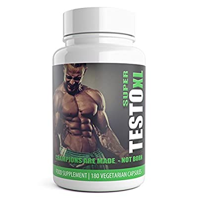 TESTO XL Testosterone Boosters for Men 180 Pills 3 Months Supply of Testro Booster Capsules - Advanced Weight Gain Supplement Contains Natural ingredients Tribulus Terrestris Increase Test Levels - Used By athletes and bodybuilders for an extreme boost to