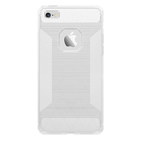 iPhone 5S Coque, Voguecase [Haute Qualité] [Antidéflagrant][Ultra Slim]TPU avec Absorption de Choc, Etui Silicone Souple, Légère / Ajustement Parfait Coque Shell Housse Cover pour Apple iPhone 5 5G 5S Blanc