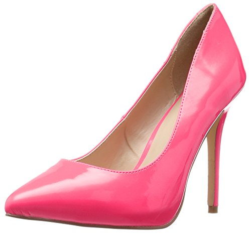 Pleaser Damen Amuse-20 Pumps, Rose (Rose Neon Fuchsia Pat), 35 EU