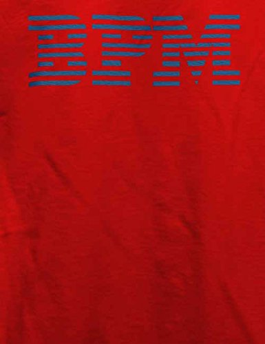 Bpm T-Shirt Rot