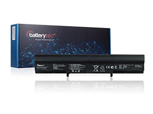 8 Zellen Batterytec® Laptop Akku für ASUS A42-U36, A41-U36, ASUS U32 U32J U32JC U32U, ASUS U36 U36J U36JC U36S U36SD U36SG U36K U36KI, ASUS U44 U44S U44SG,ASUS U82 U82U U82E U82EE, ASUS U84 U84S U84SG, ASUS X32 X32A X32J X32JT X32U X32V X32VT X32K X32KE, 4INR18/65 4INR18/65-2. [14.4V 4400mAh, 12 Monate Herstellergarantie]