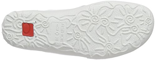 Rohde Emden, Tongs femme Blanc - Weiß (01 offwhite)