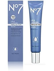 Boots No7 Lift & Luminate TRIPLE ACTION Serum **30ml*** VISIBLY REDUCES WRINKLES