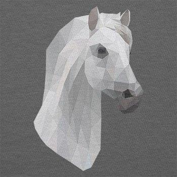 Texlab–Poly Pony–sacchetto di stoffa Grau