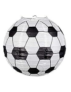 Boland BOL62504 - Farol de papel con forma de balón de fútbol, 25 cm